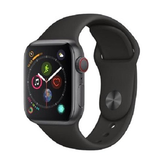 5 Pcs – Apple Watch Gen 4 Series 4 Cell 44mm Space Gray Aluminum – Black Sport Band MTUW2LL/A – Refurbished (GRADE B)