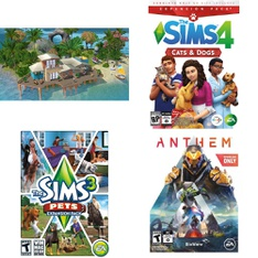 Pallet – 193 Pcs – Games, Sony – Customer Returns – Electronic Arts, Avanquest, UIE