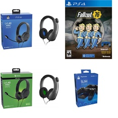 Pallet – 272 Pcs – Audio Headsets, Batteries & Chargers, Sony – Customer Returns – PDP, Controller Gear, Bethesda