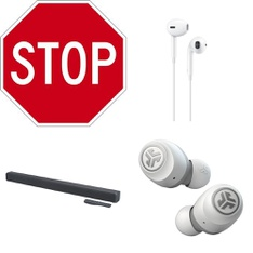 Pallet – 158 Pcs – Keyboards & Mice, Test, Other, In Ear Headphones – Customer Returns – UPC, onn., Logitech, Apple