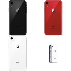 43 Pcs - Apple iPhone XR 128GB - Unlocked - Certified Refurbished (GRADE B)