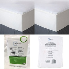 Pallet – 49 Pcs – Covers, Mattress Pads & Toppers, Blankets, Throws & Quilts – Customer Returns – Aller-Ease, Mainstay's, Mainstays