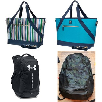 Clearance ! 30 Pcs – Mixed Clothing, Accessories and Shoes – New – Dabney Lee, Under Armour, SwissGear, CRCKT
