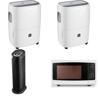 Pallet – 11 Pcs – Microwaves – Customer Returns – TCL, Hamilton Beach, Honeywell, Sunbeam