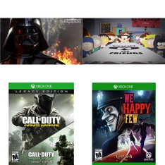 71 Pcs – Microsoft Video Games – New – Star Wars Battlefront (Xbox One), Call Of Duty Infinite Warfare – Legacy Edition (Xb, South Park: The Fractured but Whole – (XB1), Agents of Mayhem (XB1)