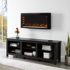 30 Pcs – Classicflame 42HF200CGT-CF 42″ Wall-Mounted Infrared Electric Fireplace Heater with Display Stand – New – Retail Ready