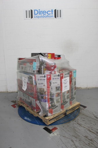 Pallet – 20 Pcs – Vacuums – Customer Returns – Dirt Devil, Bissell