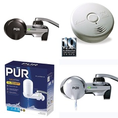 3 Pallets - 530 Pcs - Hardware, Kitchen & Dining, Smoke Alarms & CO Detectors, Lighting & Light Fixtures - Customer Returns - PUR, Brinks, Kidde, Brink's