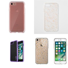 100 Pcs - iPhone 6, iPhone7, iPhone8 Accessories - Open Box Like New, New, Like New, Used, New Damaged Box - Heyday, OtterBox, Speck, Tech21