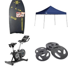 Pallet - 20 Pcs - Unsorted, Boats & Water Sports - Customer Returns - Quik Shade, POIPOUNDERS