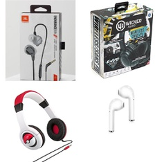 11 Pcs – Headphones & Portable Speakers – Refurbished (GRADE A) – JBL, Kiddesigns, Inc, ART+SOUND, Blackweb