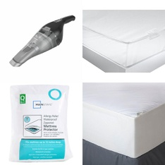 Truckload - 26 Pallets - 1098 Pcs - Covers, Mattress Pads & Toppers, Comforters & Duvets, Vacuums, Bedding Sets - Customer Returns - Mainstay's, Aller-Ease, BLACK & DECKER, Better Homes & Gardens