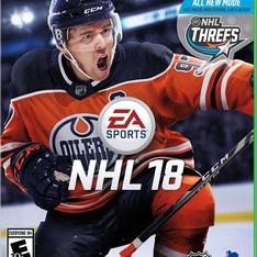 54 Pcs - Electronic Arts NHL 18 (XB1) - New, Like New, Used - Retail Ready