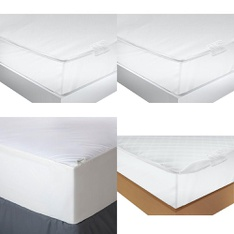 Pallet - 79 Pcs - Covers, Mattress Pads & Toppers - Customer Returns - Mainstay's, Aller-Ease