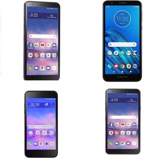 CLEARANCE! 100 Pcs – Cellular Phones – Refurbished (GRADE A, GRADE B, GRADE C – Not Activated) – LG, Motorola, ALCATEL, Unimax