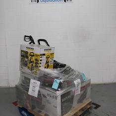 Pallet - 7 Pcs - Mowers, Portable Speakers - Customer Returns - Black Max, Ion