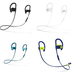 25 Pcs – Powerbeats3 Headphones (Tested NOT WORKING) – Models: ML8V2LL/A, MRET2LL/A, ML8W2LL/A, MREQ2LL/A