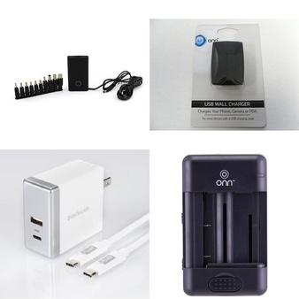 594 Pcs – Accessories -> Chargers, Cameras -> Accessories, Printers, Scanners & Faxes -> Ink, Toner, Accessories & Supplies, Accessories -> Apple iPad – Customer Returns – Onn, Blackweb, Polaroid, Canon