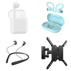 Pallet – 317 Pcs – In Ear Headphones, Lamps, Parts & Accessories, Networking – Customer Returns – Onn, onn., SANUS, VonHaus