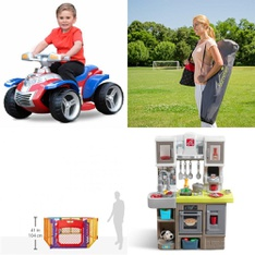 Pallet – 9 Pcs – Vehicles, Baby Toys – Customer Returns – Nickelodeon, Step2, Summer Infant, Step 2