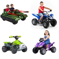 3 Pallets – 19 Pcs – Toys – Vehicles, Vehicles, Trains & RC – Customer Returns – Action Wheels, Adventure Force, Kid Connection, New Bright