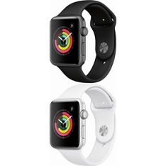 5 Pcs – Apple Watch – Series 3 – 42MM – Refurbished (GRADE B) – Models: MTF32LL/A, MTF22LL/A