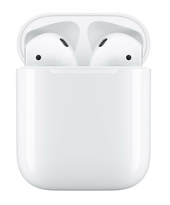 5 Pcs – Apple AirPods 2 White with Charging Case In Ear Headphones MV7N2AM/A – Refurbished (GRADE D)