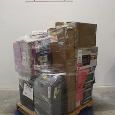 Pallet - 9 Pcs - Microwaves, Air Conditioners - Tested NOT WORKING - Frigidaire, GE, GreenWorks, Hamilton Beach