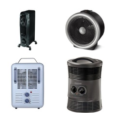 12 Pallets - 553 Pcs - Heaters, Fans, Accessories - Customer Returns - Lasko, Mainstay's, Honeywell, Utility