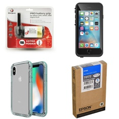 300 Pcs - Electronics & Accessories - Like New, Open Box Like New, New, Used, New Damaged Box - Retail Ready - Heyday, OtterBox, Belkin, CASE-MATE
