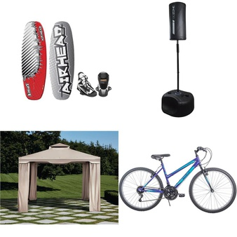 Pallet – 11 Pcs – Cycling & Bicycles, Outdoor Sports – Customer Returns – Ozark Trail, Little Miss Matched, Movelo, GoZone