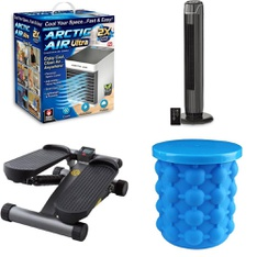 3 Pallets - 156 Pcs - Humidifiers / De-Humidifiers, Camping & Hiking, Fishing & Wildlife, Hunting - Customer Returns - As Seen On TV, Coleman, Shakespeare, Mainstay's