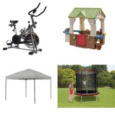 Pallet – 8 Pcs – Exercise & Fitness, Camping & Hiking – Customer Returns – GoZone, Ozark Trail, Trainor Sports, Step 2