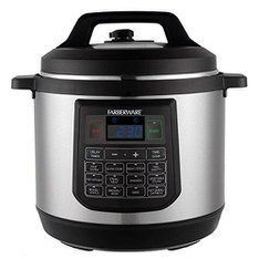 Pallet – 18 Pcs – Farberware WM-CS6004W 6-Qt Digital Pressure Cooker – Like New – Retail Ready