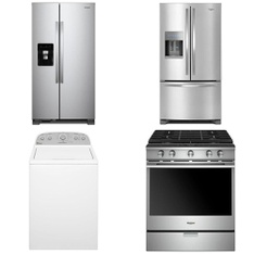 Lowes - 26 Pcs - Laundry, Refrigerators, Dishwashers, Bar Refrigerators & Water Coolers - Customer Returns - WHIRLPOOL, Maytag, Frigidaire, GE