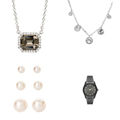 Pallet - 946 Pcs - Necklaces, Earrings, Watches (NOT Wearable Tech) - Customer Returns - Believe by Brilliance, George, Time And Tru