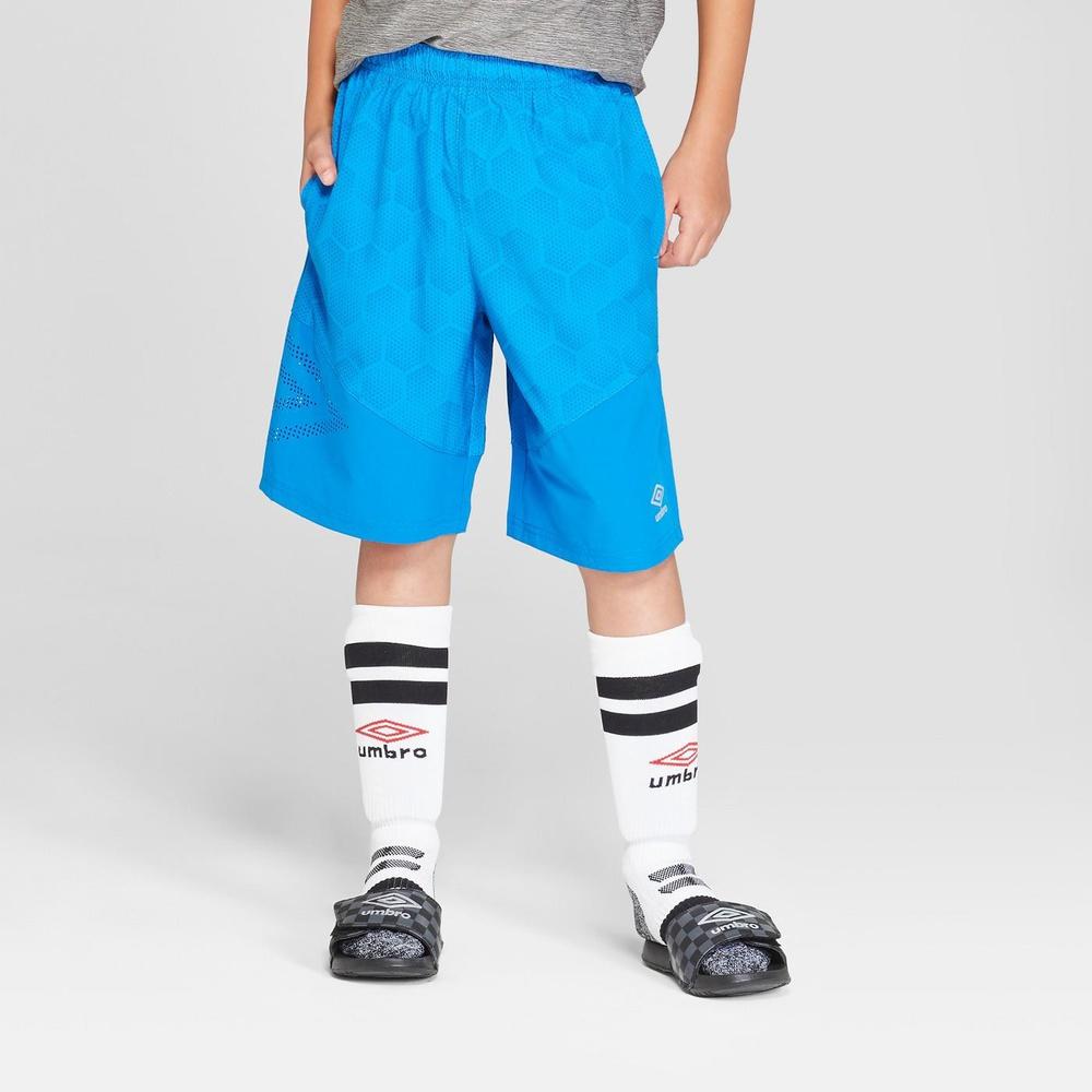 26fb2c700 36 Pcs – Umbro Boys' Woven Shorts, Electric Blue, XS – New – Retail Ready