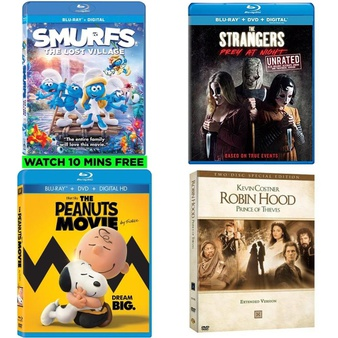 56 Pcs – Movies & TV Media – New – Retail Ready – Sony Pictures Home Entertainment, 20th Century Fox, Warner Brothers, Universal Pictures