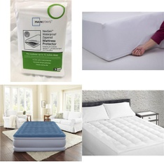 Pallet – 35 Pcs – Covers, Mattress Pads & Toppers, Comforters & Duvets – Customer Returns – Mainstays, Beautyrest, Mainstay's