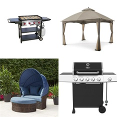 Pallet – 6 Pcs – Patio – Customer Returns – HomeTrends, Expert Grill, Camp Chef