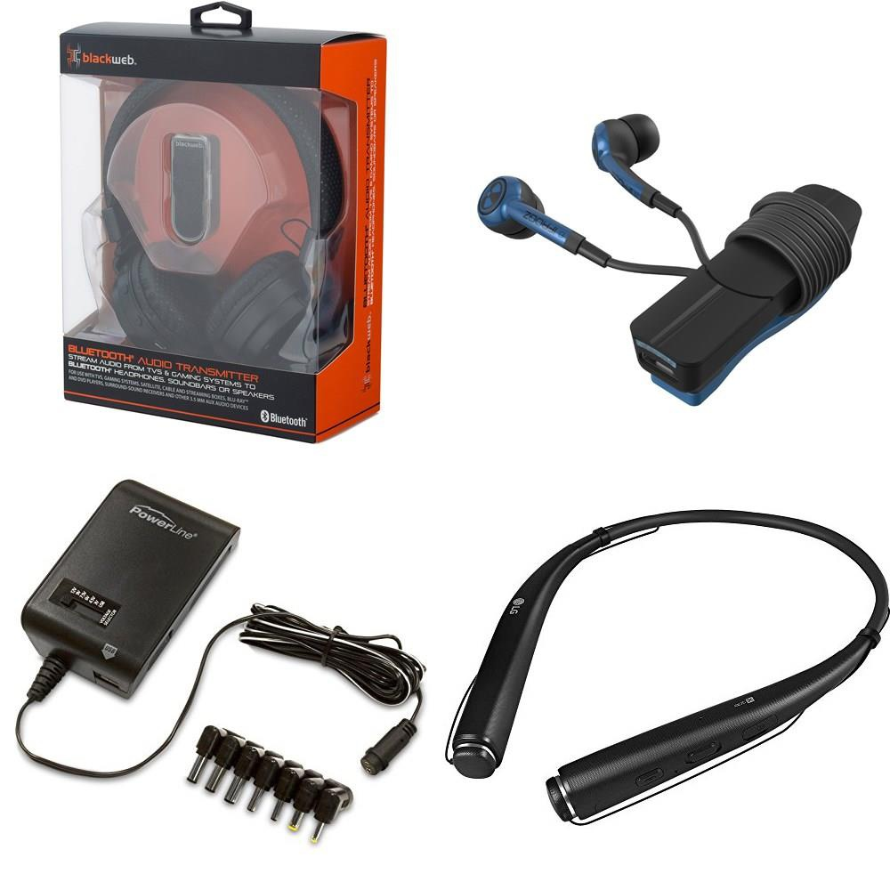 Pallet - 342 Pcs - Accessories, In Ear Headphones, Audio Headsets, Sony -  Customer Returns - Onn, Blackweb, GE, iFrogz