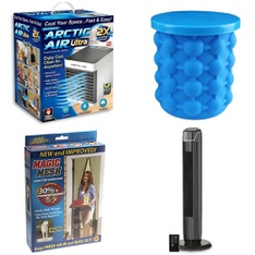 3 Pallets - 334 Pcs - Humidifiers / De-Humidifiers, Hardware, Kitchen & Dining, Home Security & Safety - Customer Returns - As Seen On TV, Brink's, Mainstay's, Brinks