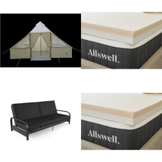 Pallet - 8 Pcs - Covers, Mattress Pads & Toppers - Customer Returns - Igloo, Mainstay's