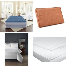 Pallet – 23 Pcs – Covers, Mattress Pads & Toppers, Comforters & Duvets – Customer Returns – Mainstay's, Beautyrest