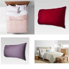 150 Pcs - Bedding - Used, Like New, Open Box Like New, New Damaged Box - Retail Ready - threshold, Fieldcrest, Opalhouse, Project 62