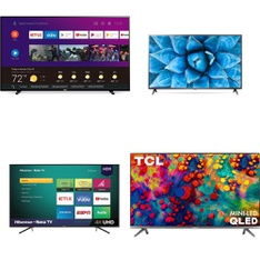 18 Pcs – LED/LCD TVs – Refurbished (GRADE A) – Philips, TCL, LG, HISENSE