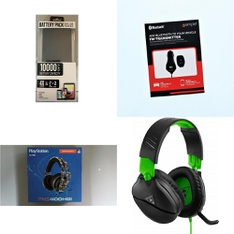 Pallet – 284 Pcs – Other, Audio Headsets, Portable Speakers, DVD & Blu-ray Players – Customer Returns – Plantronics, Turtle Beach, Sony, Logitech