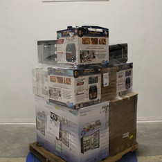 Pallet - 13 Pcs - Deep Fryers, Air Conditioners - Tested NOT WORKING - Tri Star, GE, HAIER, Panasonic