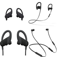 69 Pcs – Apple Beats Headphones – Refurbished (GRADE D, No Packaging) – Models: MTH52LL/A, MWNV2LL/A, MV6Y2LL/A, ML8V2LL/A