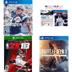 30 Pcs – Video Games – Used, Like New, New, Open Box Like New – EA SPORTS, Electronic Arts, 2K, ELECTRONICS ARTS